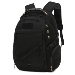 Black backpack,...